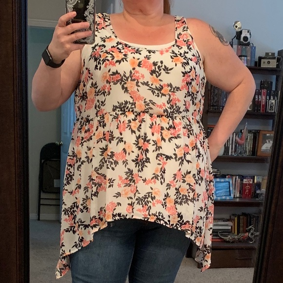 b0c5a98864 torrid Tops | Great For Summer Plus Size Floral Top | Poshmark